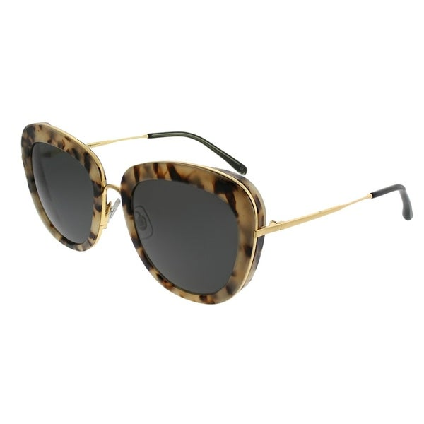 9f0c9ebb38b3c Gentle Monster Cat-Eye Joli Lady S3 Women Grey Havana Gold Frame Grey Lens  Sunglasses