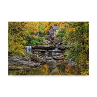 Galloimages Online 'Grist Mill Fall 5' Canvas Art - Multi-color