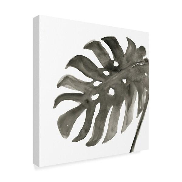 Tropical Palm I Canvas Artwork 30 x 30 Global Gallery Chris Paschke