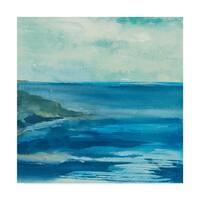 Chris Paschke 'Inlet' Canvas Art - Multi-color