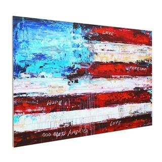 "ArtWall Jolina Anthony ""America"" Wood Pallet Artwork"