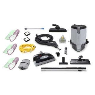 ProTeam ProVac FS6 6 QT Commercial Backpack Vacuum Electric Power Head