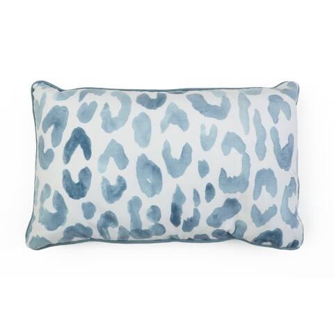 12x20 Miron Cheetah Velvet Pillow