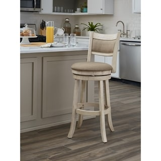 Link to The Gray Barn McNiven 30-inch Swivel Stool with Solid Back Similar Items in Dining Room & Bar Furniture