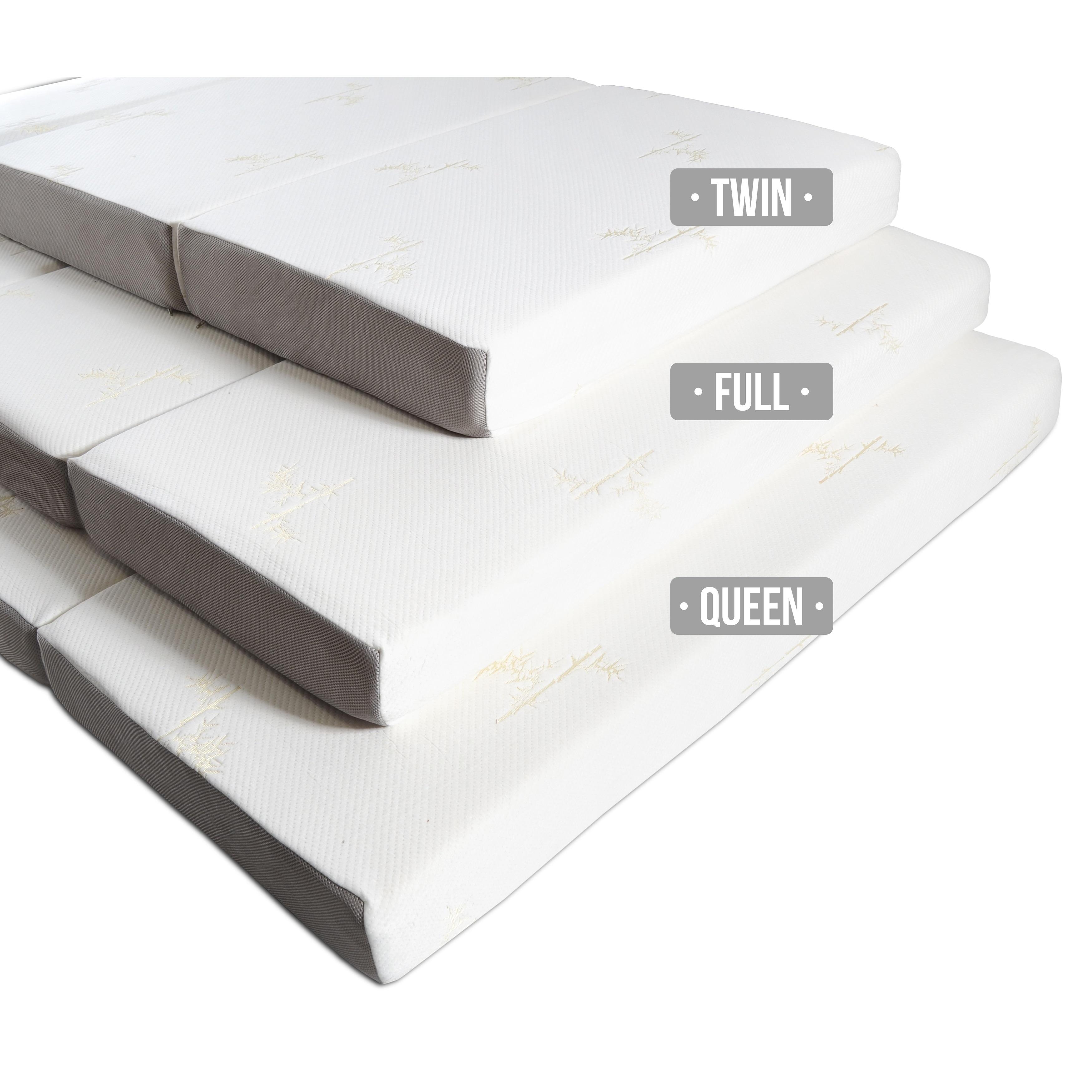 - Shop Milliard 6-inch Memory Foam Tri-fold Full-size Mattress With