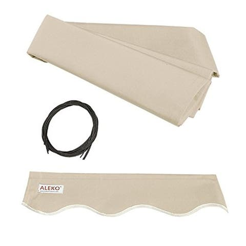 Aleko Replacement Fabric for Retractable Awning (12 x 10 ft.)