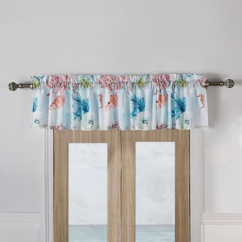 Barefoot Bungalow Sarasota Coastal Window Valance