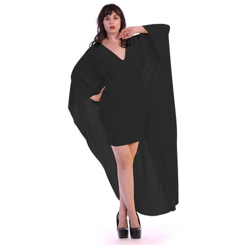 Plus size long cape (size 3x)