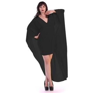 Plus size long cape (size 3x)