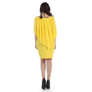 Plus size drapped short dress (size-1x)