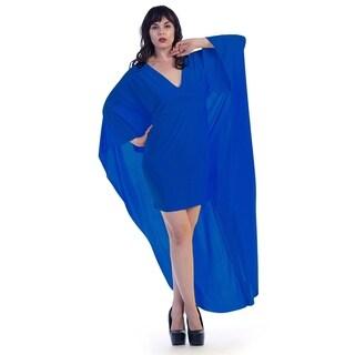 Plus size long cape (size 2x)