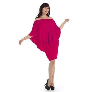 Plus size drapped short dress (size-3x)