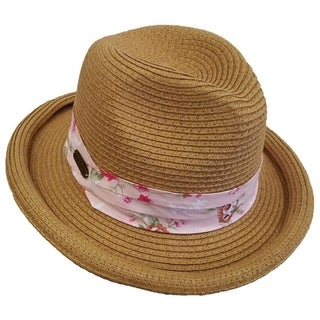 2e5f1fdcc50a6 Buy Size Adjustable Fedora Women s Hats Online at Overstock