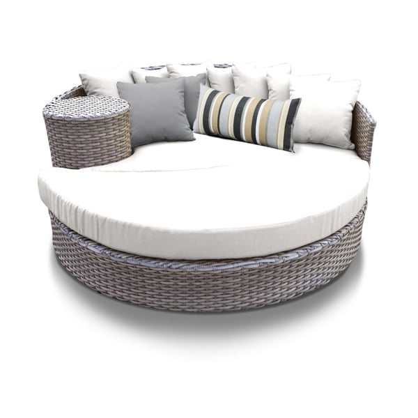 Swell Shop Oasis Circular Sun Bed Outdoor Wicker Patio Furniture Download Free Architecture Designs Embacsunscenecom