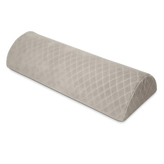 Rio Home Fashions Half Moon Lumbar Memory Foam Pillow