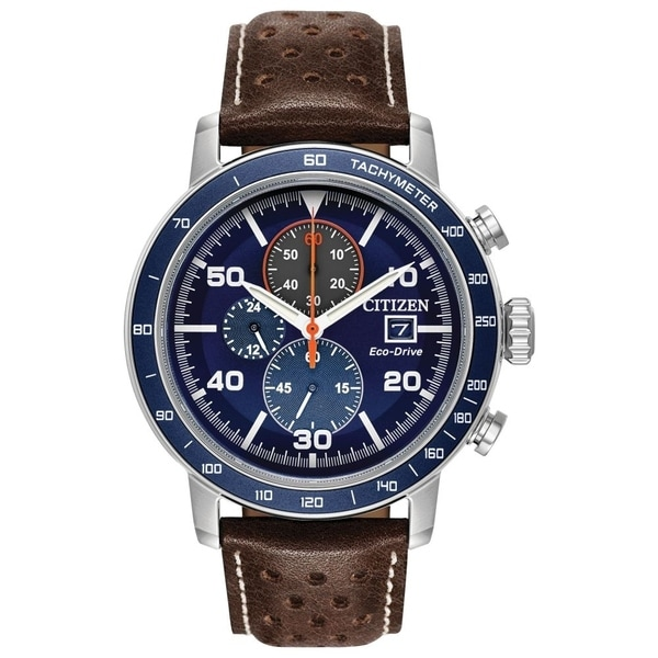 Citizen Men's CA0648-09L Eco-Drive Chronograph Watch - N/A
