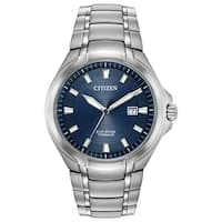 Citizen Men's  Eco-Drive Super Titanium Watch