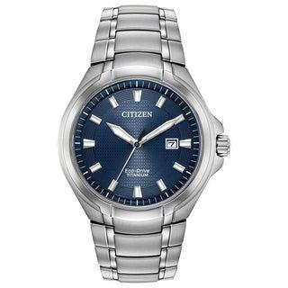 Citizen Men's BM7431-51L Eco-Drive Super Titanium Watch