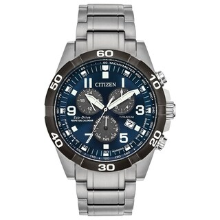 Citizen Men's BL5558-58L Eco-Drive Super Titanium Watch