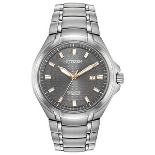 Citizen Men's BM7431-51H Eco-Drive Super Titanium Watch