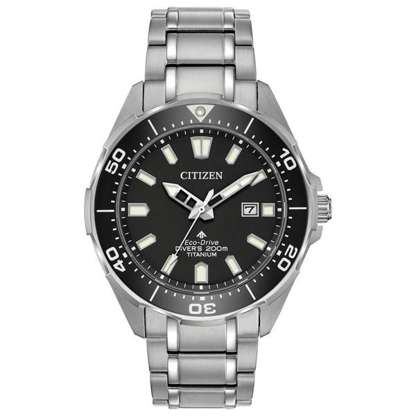 30231c500 Shop Citizen Men's BN0200-56E Eco-Drive Super Titanium Promaster Diver Watch  - Free Shipping Today - Overstock - 21828752
