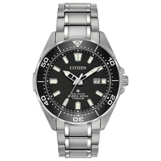 Citizen Men's Eco-Drive Super Titanium Promaster Diver Watch