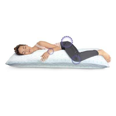 Loftworks Big and Soft Extra Long Memory Foam Body Pillow