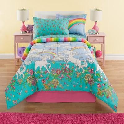 Kidz Mix Unicorn Rainbow Complete Bedding Set