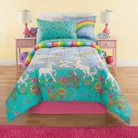Kidz Mix Unicorn Rainbow Complete Bedding Set