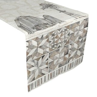 Laural Home Farmhouse Traditions Table Runner (2 options available)