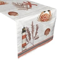 Laural Home Seafood Bake Table Runner