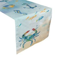 Laural Home Under the Sea Table Runner