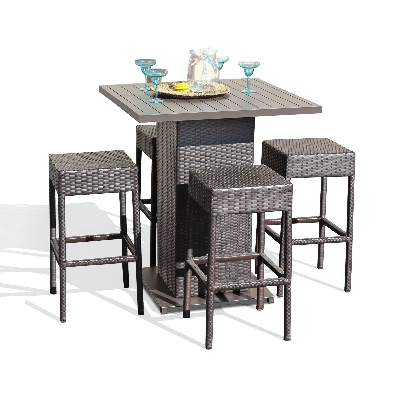 Napa Pub Table Set With Backless