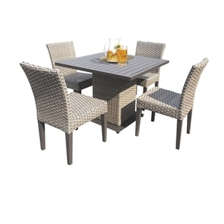 Oasis Square Dining Table with 4 Chairs