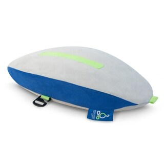 Sleep Yoga GO Posture Pillow for Home or Travel - Customizable lumbar and neck stretch and support - improve posture - N/A