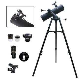 640mm x 102mm Telescope w/ 1.3 MP Camera