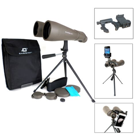 15 x 70mm Astronomical Binocular & Smart Phonoe Adapter