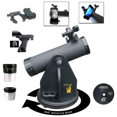 Table-Top Dobsonian Telescope with SmartPhone Adapter