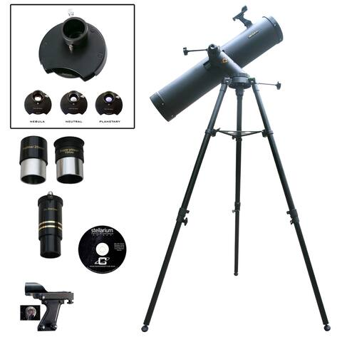 900mm x 135mm Reflector Telescope with Color Filter Wheel