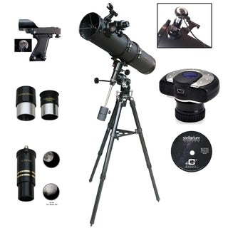 900mm x 135mm EQ3 Mount Reflector Telescope with C-13MP Camera Eyepiece