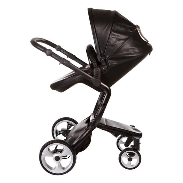Shop Black Friday Deals On Elite Leatherette Stroller By Ella Baby Overstock 21832027