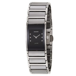 Rado Integral Silver Stainless Steel and Ceramos Women's Watch