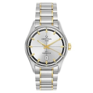 Certina DS 1 Stainless Steel and Yellow Gold PVD Coated Men's Watch