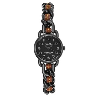 Coach Delancey Black and Brown Women's Watch