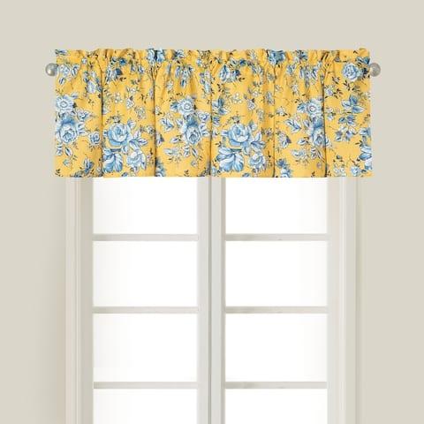 Harper Window Curtain Valance Set of 2 - 15.5 x 72