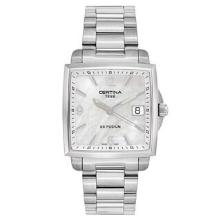 Certina DS Podium Silver Women's Watch