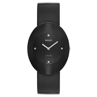 Rado Esenza Black Leather Women's Watch