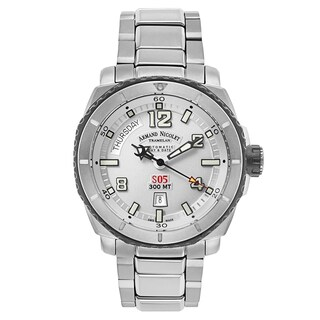 Armand Nicolet S05 Titanium and Rubber Men's Watch