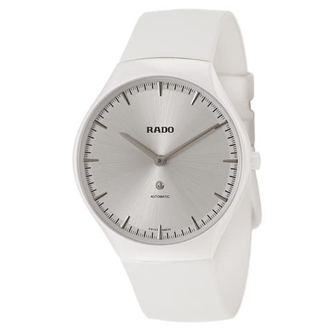 Rado Rado True White Rubber Women's Watch