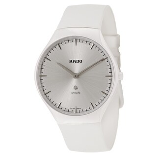 Rado Rado True White Rubber Women's Watch